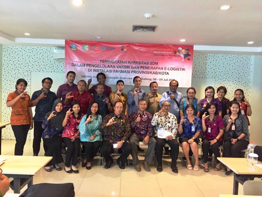 Peserta Pertemua E-Logistik Bali