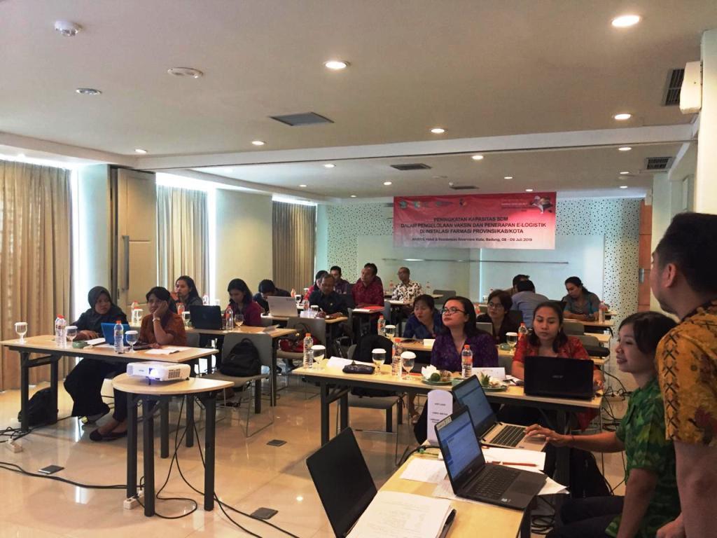 pelatihan E-Logistik Bali